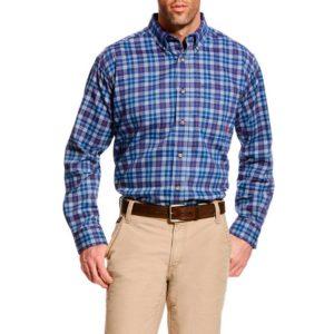 Ariat-FR-Collins-Work-Shirt-Front