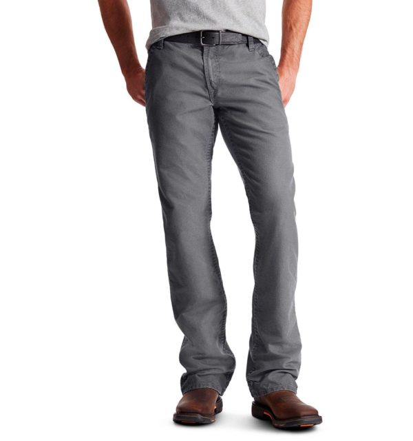 Ariat-FR-M4-Relaxed-Workhorse-Boot-Cut-Pant-gray-front