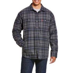 Ariat-FR-Monument-Shirt-Jacket-Gray-Front