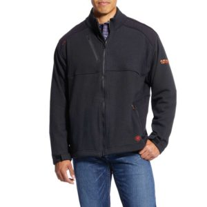 Ariat-FR-Polartec-Platform-Jacket-Black-Front