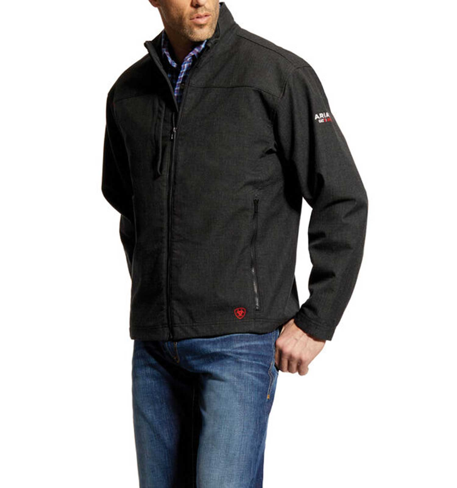 Ariat-FR-Vernon-Jacket-Black-Front