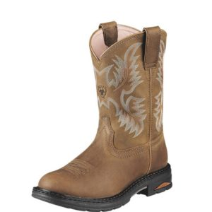 Ariat-Tracey-Composite-Toe-Work-Boot-Brown-Front