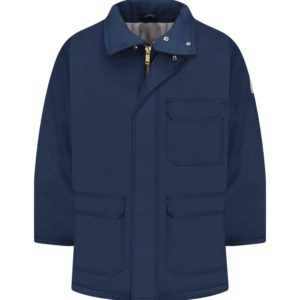 Bulwark-7oz-FR-Insulated-Parka--JLP8NV-Navy-Front