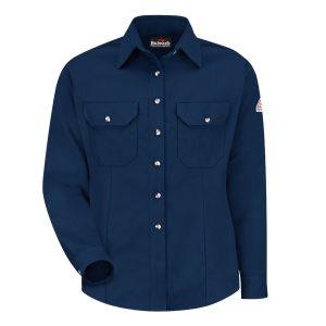 Bulwark-Cool-Touch2-Womens-Dress-Uniform-Shirt-Navy-SMU3NV