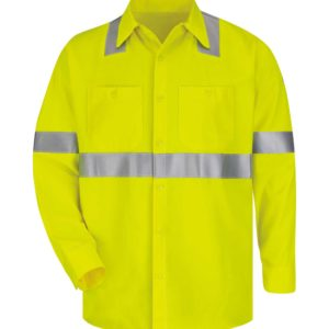 Bulwark-Cooltouch®2-Work-Shirt-Hi-Vis-SMW4HV-Front