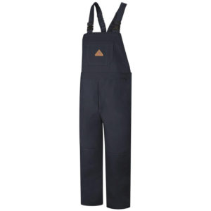 Bulwark-EXCEL-FR®-ComforTouch®-Unlined-Bib-Overall-Navy-Duck-BLF8NV-NAVY-FRONT