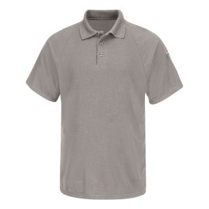 Bulwark-FR-Cool-Touch2-Classic-Short-Sleeve-Polo--SMP8-gray