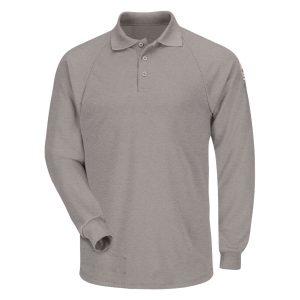 Bulwark-FR-Long-Sleeve-Classic-Polo--SMP2---gray