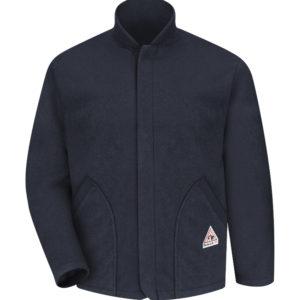 Bulwark-Fleece-Jacket-Sleeved-Liner-LML6NV-NAVY-FRONT