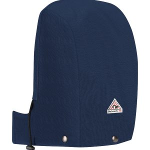 Bulwark-Universal-FR-Snap-On-Insulated-Hood-Comfortouch--HLH2-Navy-Back