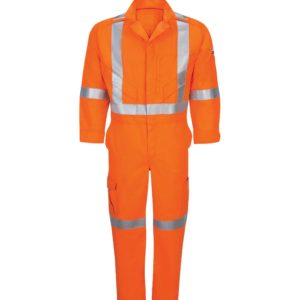 Bulwark-iQ-Series®-Endurance-Premium-Coverall-CSA-Reflective-Trim-QC12OR-Front