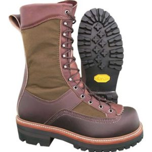 Hoffman-10″-All-Leather-Powerline-Plain-Toe-Brown-Front