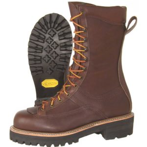 Hoffman-10″-All-Leather-Powerline-Comp-Toe-Brown-Front